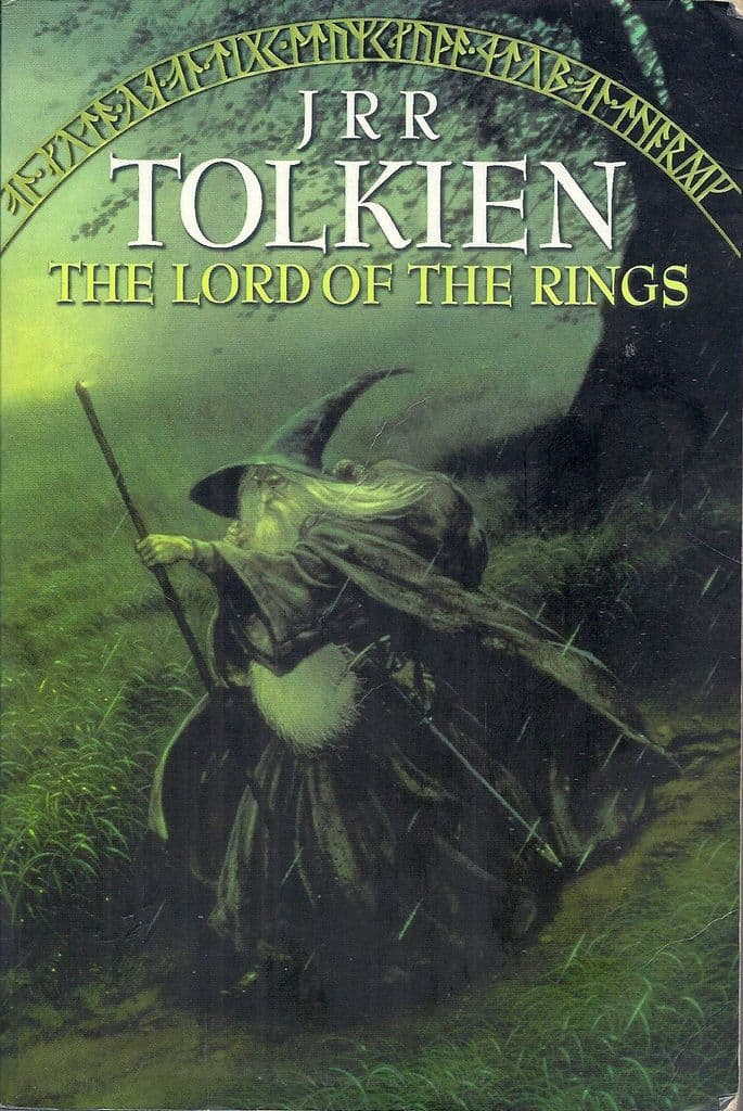 The Lord of the Rings Trilogy by J.R.R. Tolkien Omnibus paperback book (1995)