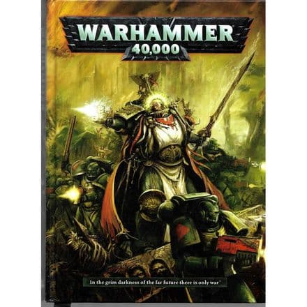 Warhammer 40,000 hardcover rulebook 2012 6th edition