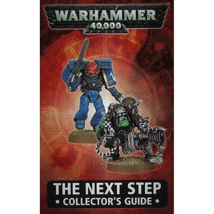Warhammer 40,000 The Next Step Collectors Guide pamphlet 2008