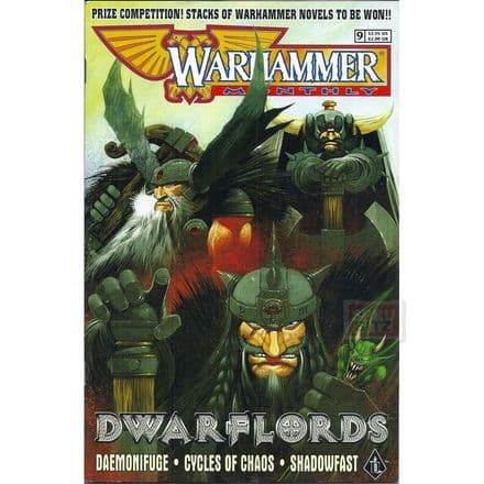 Warhammer Monthly #9 Comic November 1998