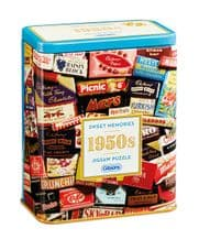 1950's Sweet Memories - 500pc Jigsaw Puzzle in a Tin