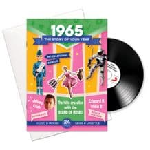 1960 to 1969  The Story of your Year CD/Booklet