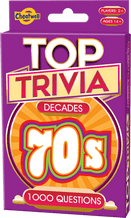 1970's Top Trivia Card Game