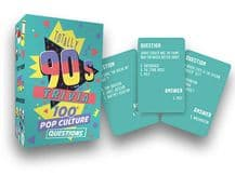 1990's Totally Trivia Card Game