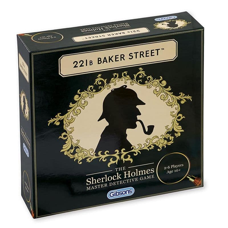 221b Baker Street Retro Board Game | Detective Games| Family Board Games