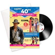 40th Birthday..The Story of your Life CD/Booklet