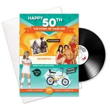 50th Birthday..The Story of your Life CD/Booklet