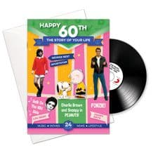60th Birthday..The Story of your Life CD/Booklet