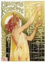 Absinthe Robette Metal Wall Sign (4 sizes)
