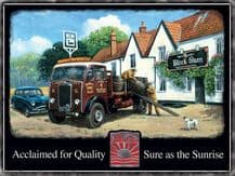 ALBION Truck Metal Wall Sign (3 sizes)