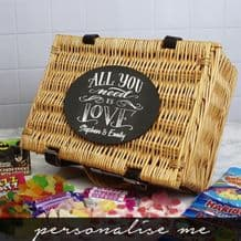 All You Need Is Love Retro Sweet Hamper