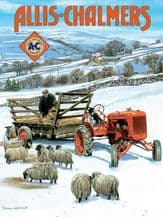Allis Chalmers A5 Metal Wall Sign