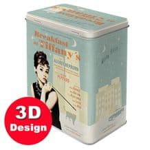 Audrey Hepburn - Embossed Storage Tin