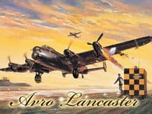 Avro Lancaster Bomber Metal Wall Sign (4 sizes)