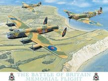 Battle of Britain Memorial Flight Metal Wall Sign (4 sizes)