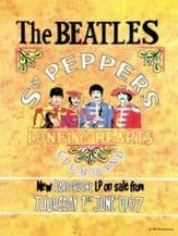 Beatles Sgt Pepper Metal Wall Sign (3 sizes)