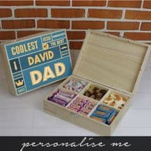 Best Dad 6 Compartment Box