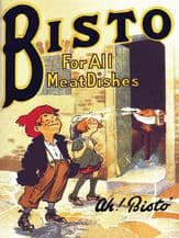 Bisto Kids Metal Wall Sign (4 sizes)