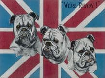 British Bulldogs WW2 Metal Wall Sign (4 sizes)