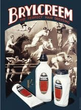 Brylcreem A3 Metal Wall Sign