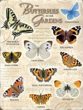 Butterflies Metal Wall Sign (4 sizes)