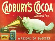 Cadbury's Cocoa Vintage Advertising Wall Sign (4 sizes)