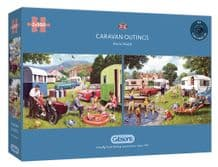Caravan Outings - 2 x 500 piece  Jigsaw Puzzles