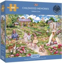 Childhood Memories - 500 Piece Jigsaw Puzzle