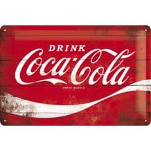 Coca Cola Red Sign 3D Metal Wall Sign
