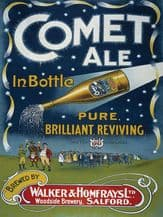 Comet Ale Metal Wall Sign (3 sizes)