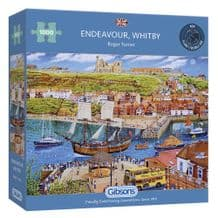 Endeavour Whitby 1000 Piece Jigsaw Puzzle