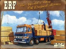 ERF Truck Metal Wall Sign (3 sizes)