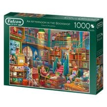 Falcon De Luxe An Afternoon In The Bookshop 1000 Piece Jigsaw Puzzle