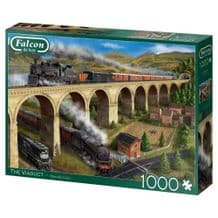 Falcon De Luxe The Viaduct 1000 Piece Jigsaw Puzzle