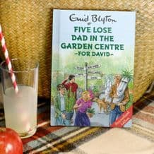 Five Lose Dad in the Garden Centre - Personalised Book
