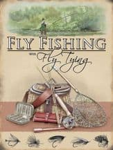 Fly Fishing Metal Wall Sign (3 sizes)