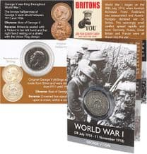 George V Shilling WWI Coin Pack