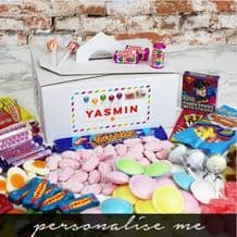 Happy Birthday Personalised Retro Sweet Box