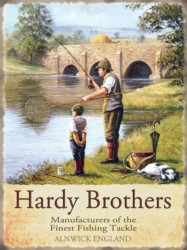 Hardy Brothers Fishing Tackle Metal Sign | Gifts for Him | Vintage Advertising