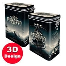 Harley Davidson Things are Different- Embossed Storage Tin