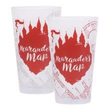 Harry Potter Cold Changing Glass Marauder's Map