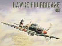 Hawker Hurricane (Airfix) Metal Wall Sign (4 sizes)