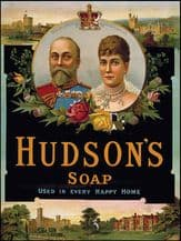 Hudsons King and Queen Soap Metal Wall Sign (4 sizes)