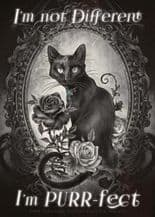 I'm Purrfect Metal Wall Sign (4 sizes)