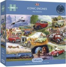 Iconic Engines - 1000 Piece Jigsaw Puzzle