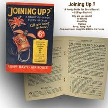 Joining Up - Guide for New Recruits (61 Page Booklet)