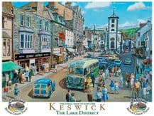 Keswick in the Lake District Metal Wall Sign (4 sizes)