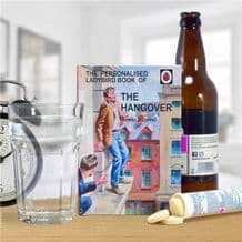 Ladybird Book The Hangover - Personalised Book