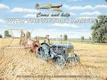 Land Girls Victory Harvest Metal Wall Sign (4 sizes)