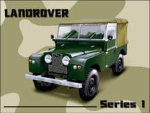 Land Rover Series 1 Metal Wall Sign (4 sizes)
